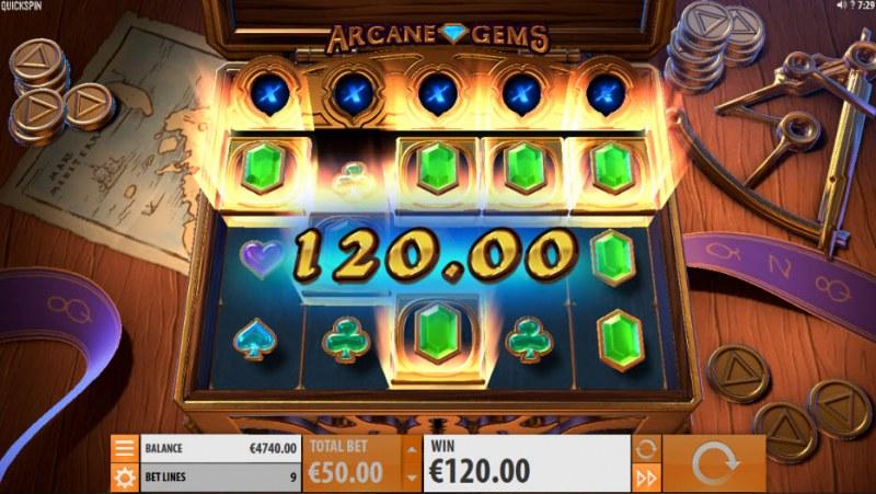 Arcane Gems :: Big Win