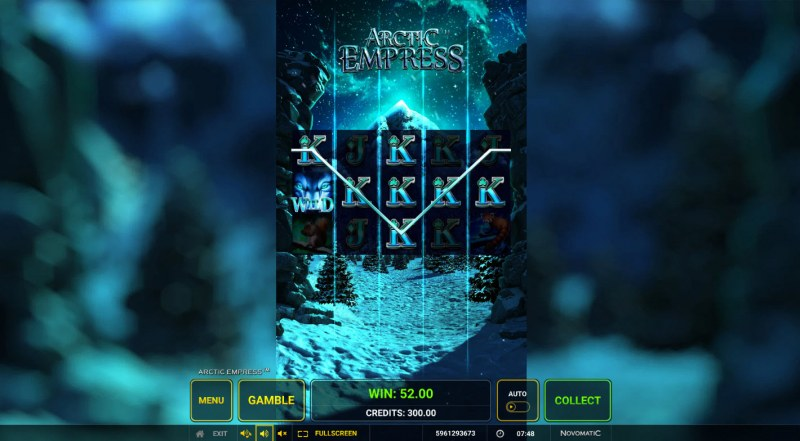 Arctic Empress :: Multiple winning paylines