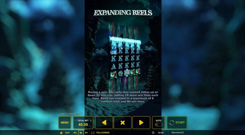 Arctic Empress :: Expanding Reel Feature