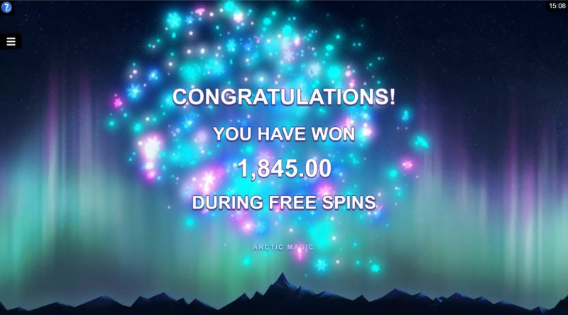 Arctic Magic :: Total Free Spins Payout