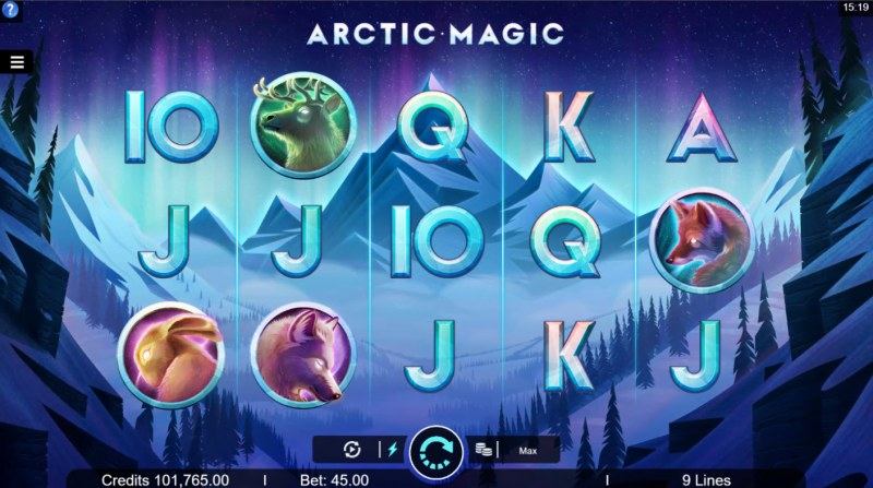 Arctic Magic :: Main Game Board
