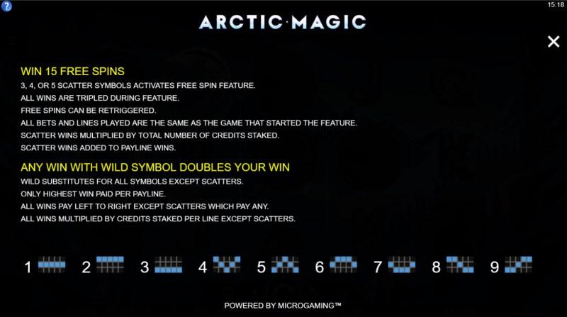 Arctic Magic :: Feature Rules