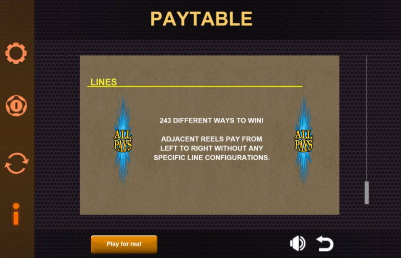 Play slots at Slots of Vegas: Slots of Vegas featuring the Video Slots Ares The Battle for Troy with a maximum payout of $6,250