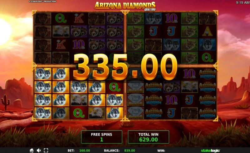 Arizona Diamonds Quattro :: Big Win