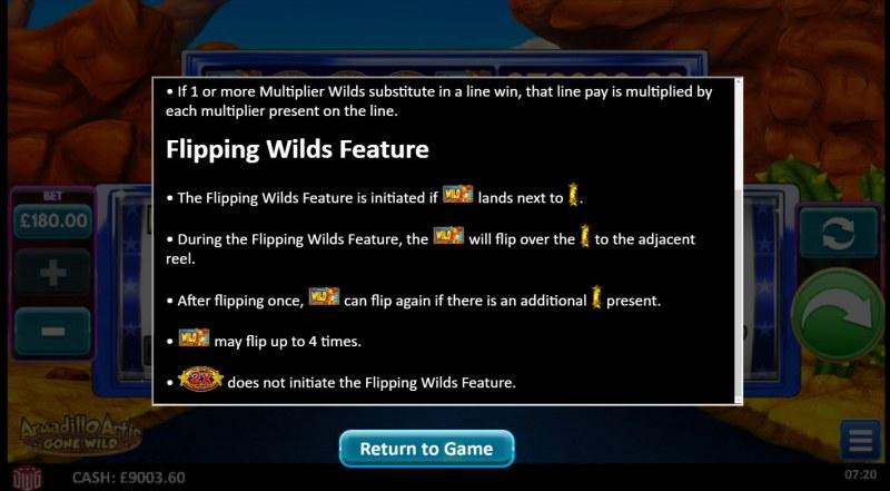 Armadillo Artie Gone Wild :: Flipping Wilds Feature