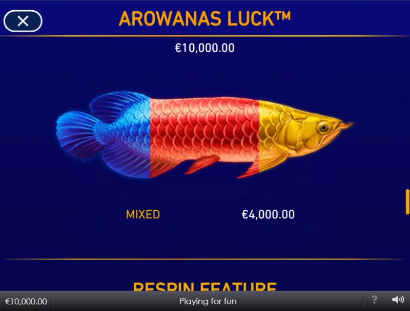 Arowanas Luck :: Mixed Fish