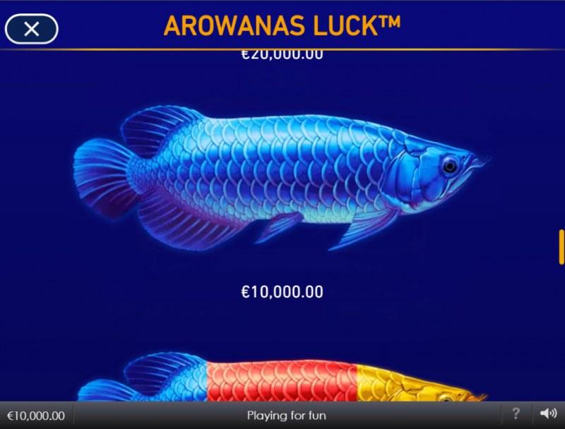 Arowanas Luck :: Blue Fish
