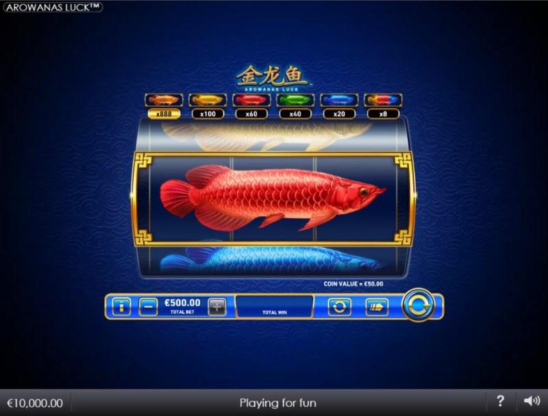 Arowanas Luck :: Main Game Board