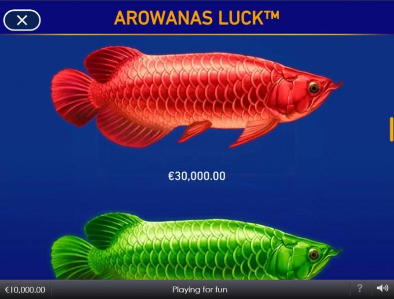 Arowanas Luck :: Red Fish