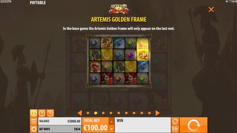 Artemis & Medusa :: Artemis Gold Frame