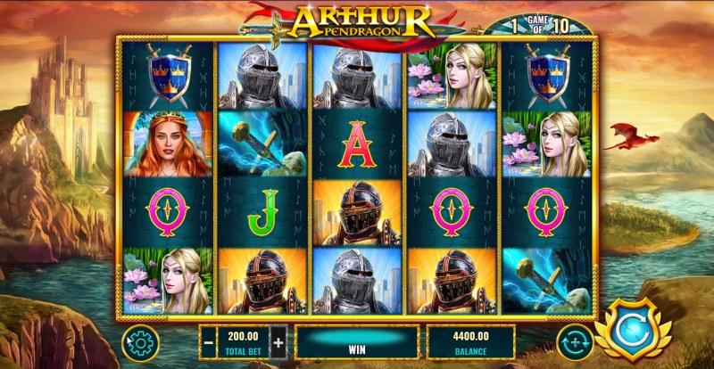 Arthur Pendragon :: Main Game Board