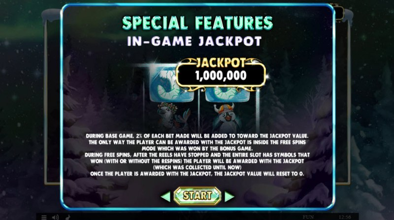 Artic Adventures :: In-Game Jackpot