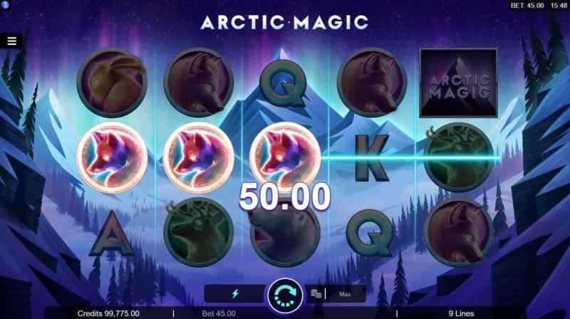 Artic Magic :: Three of a kind