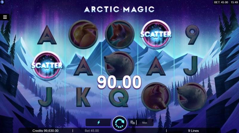 Artic Magic :: Scatter Win
