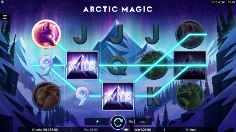 Artic Magic :: Multiple winning paylines
