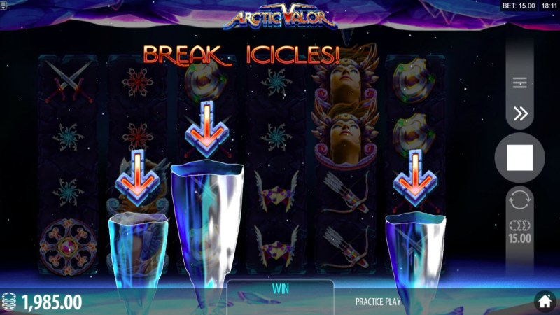 Play slots at Mongoose Casino: Mongoose Casino featuring the Video Slots Artic Valor with a maximum payout of $40,960