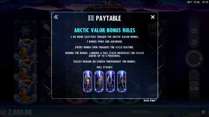 Artic Valor :: Bonus Game Rules