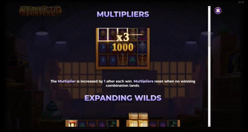 Artifacts Vault of Fortune :: Multipliers