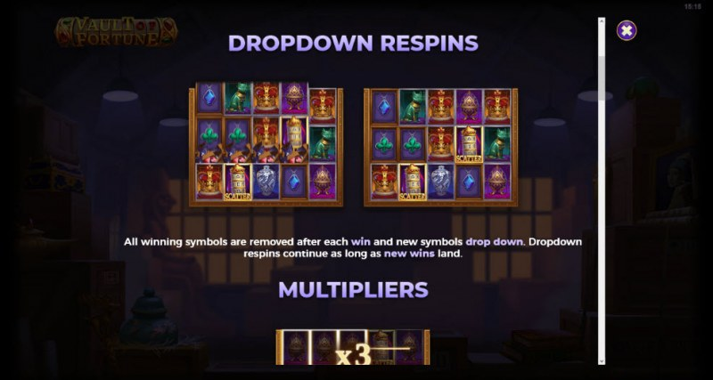 Artifacts Vault of Fortune :: Dropdown Respins