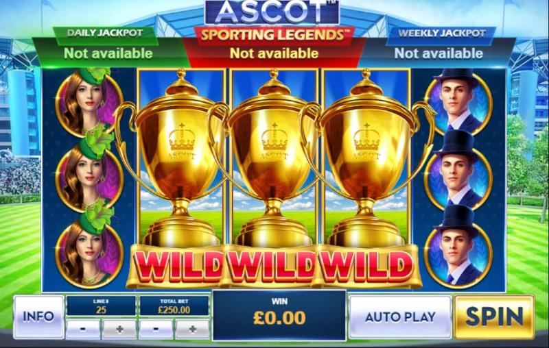 Ascot Sporting Legends :: Main Game Board
