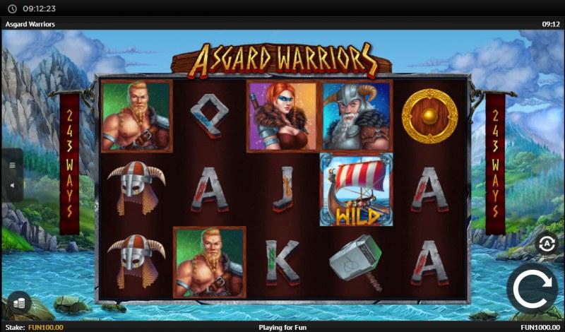 Asgard Warriors :: Main Game Board