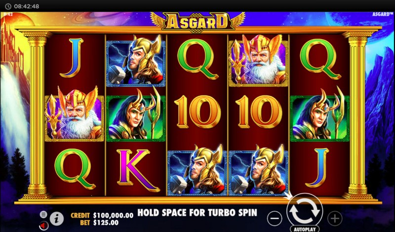 Asgard :: Main Game Board
