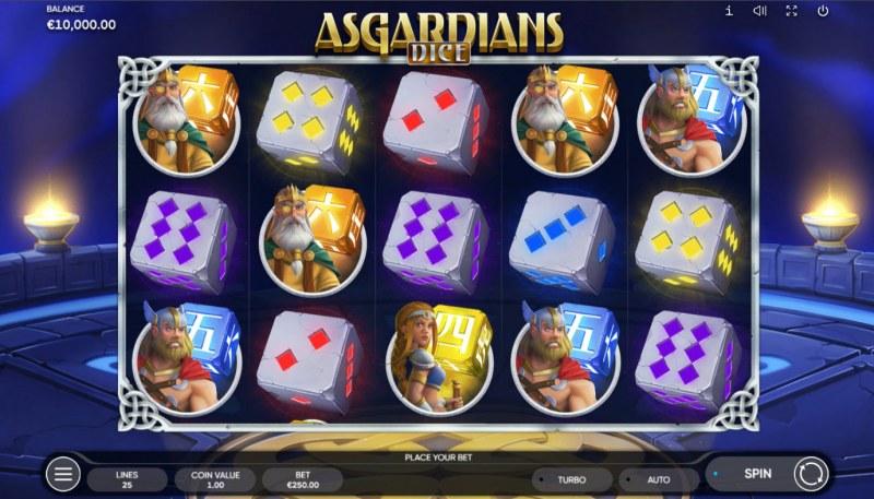 Asgardians Dice :: Base Game Screen