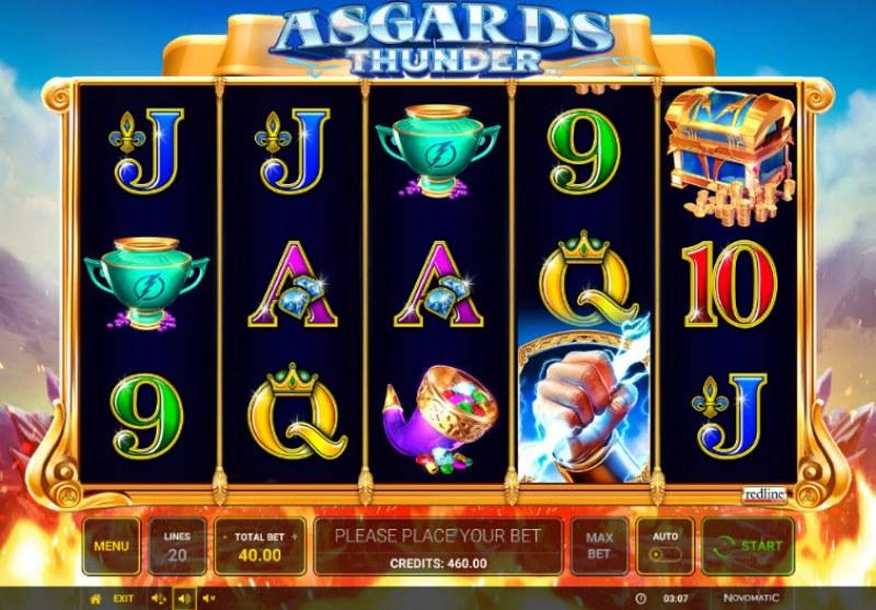 Asgards Thunder :: Main Game Board