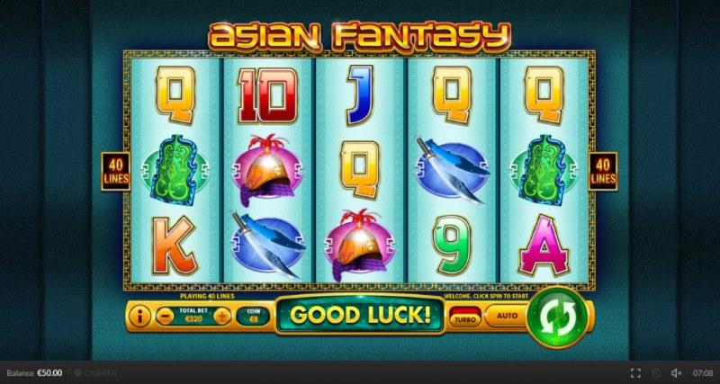 Asian Fantasy :: Main Game Board