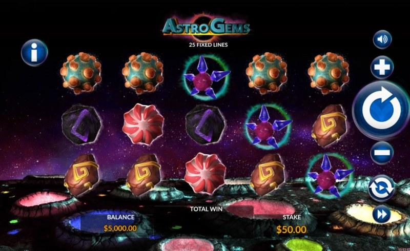 Astro Gems :: Main Game Board