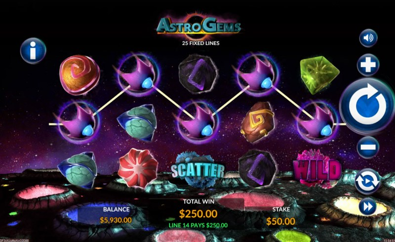 Astro Gems :: A winning 5 of a kind