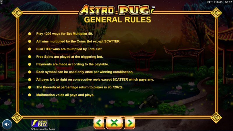 Astro Pug :: General Game Rules
