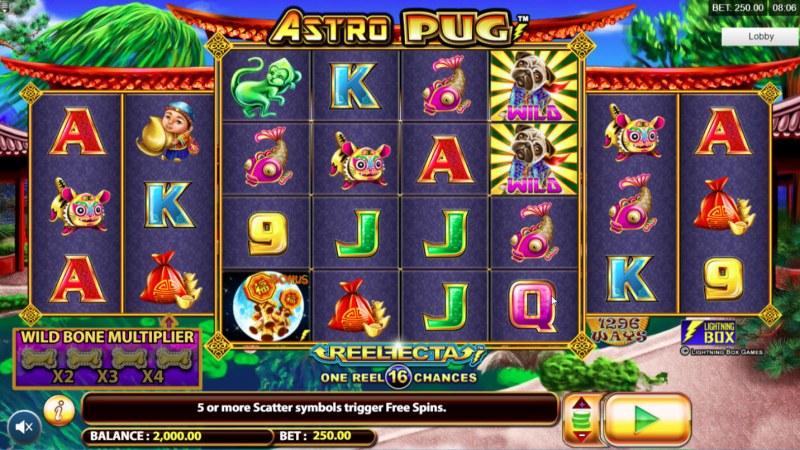 Astro Pug :: Main Game Board