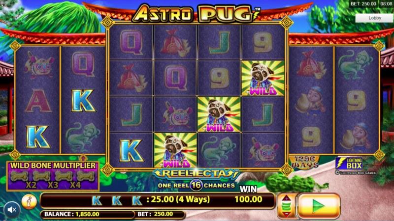 Astro Pug :: 4 Way Win