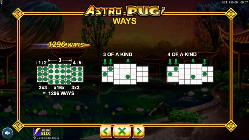 Astro Pug :: 1296 Ways to Win