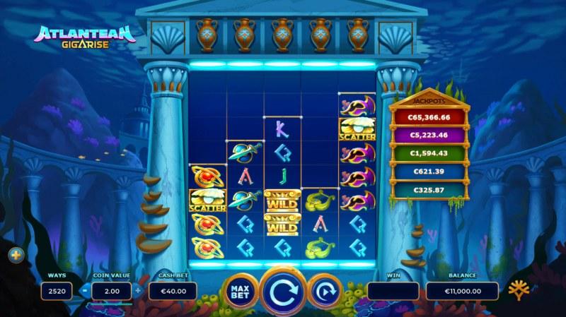Atlantean Gigarise :: Main Game Board