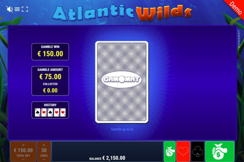 Atlantic Wilds :: Gamble Feature Game Board