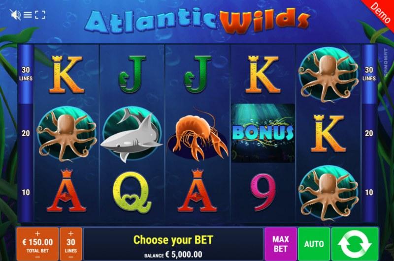 Atlantic Wilds :: Main Game Board