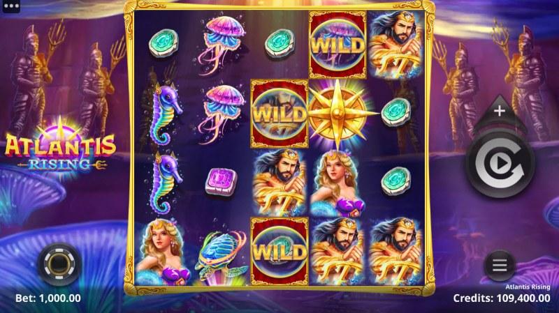 Atlantis Rising :: Main Game Board