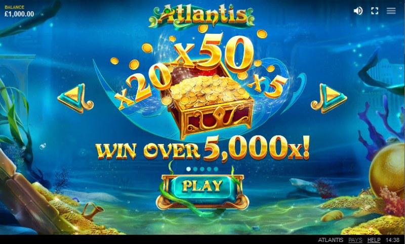 Atlantis :: Win Over 5,000x
