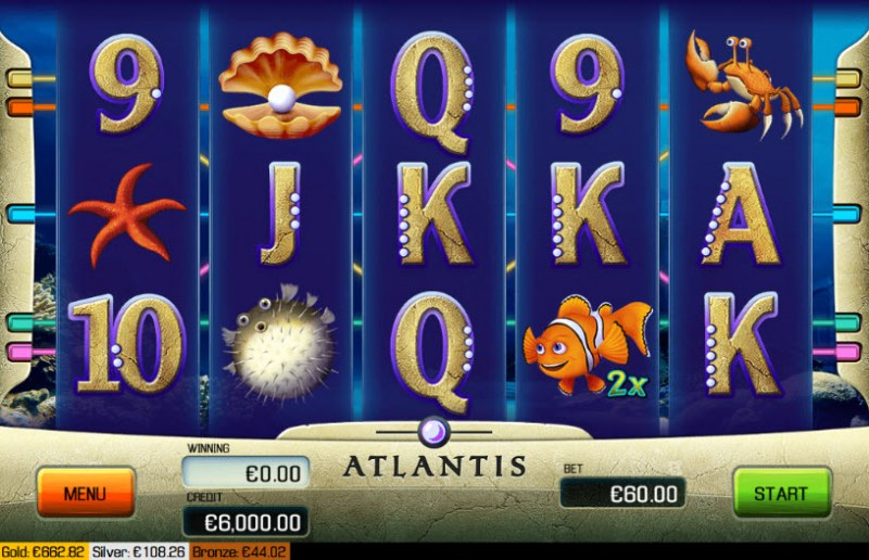 Atlantis :: Main Game Board