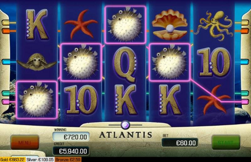 Atlantis :: Four of a kind