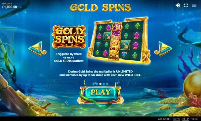 Atlantis :: Gold Spins