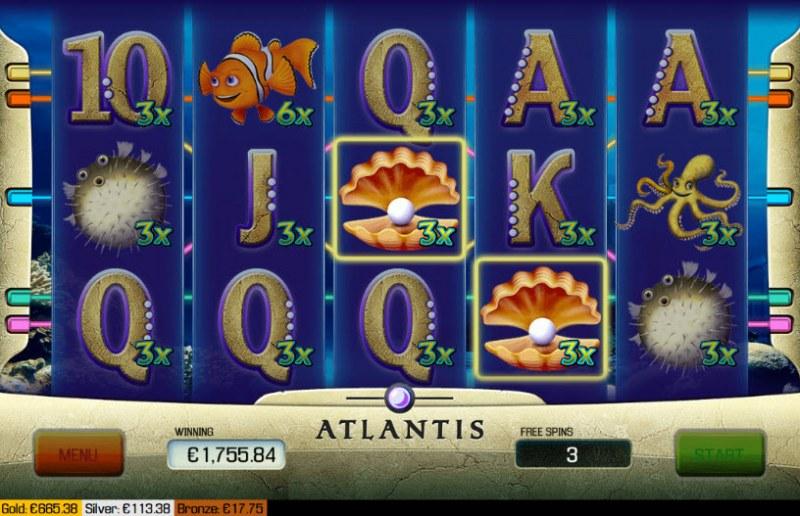 Atlantis :: Scatter Win