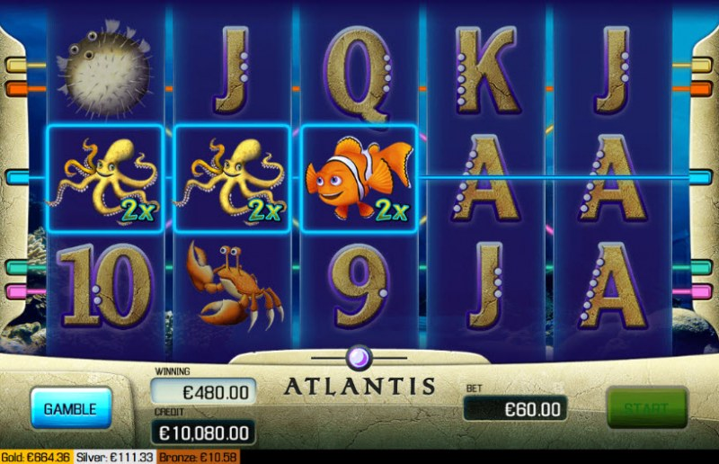 Atlantis :: Wild Multiplier
