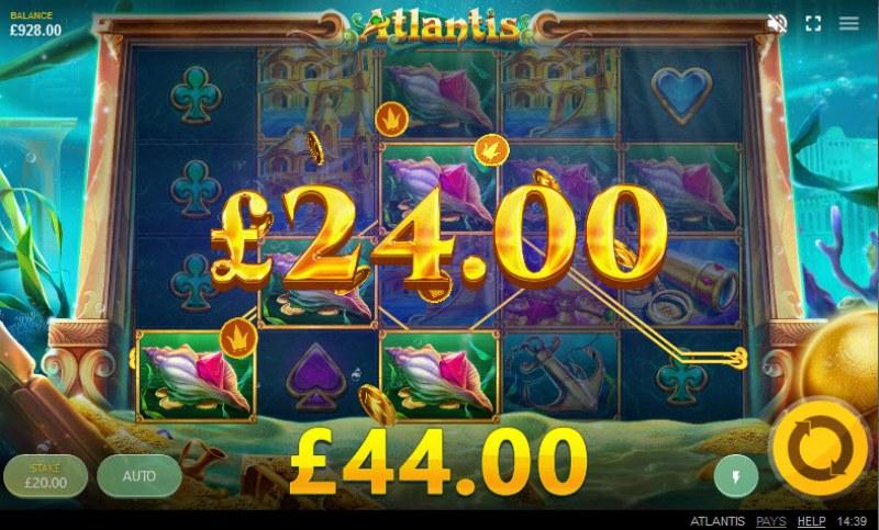 Atlantis :: Multiple winning paylines