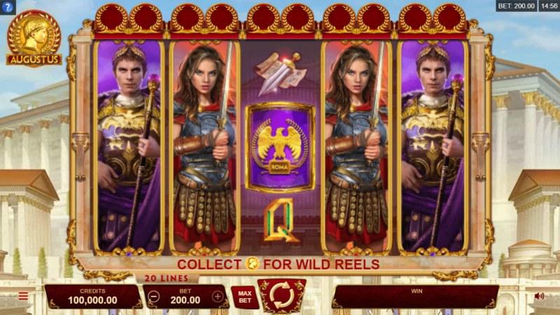 Augustus :: Main Game Board