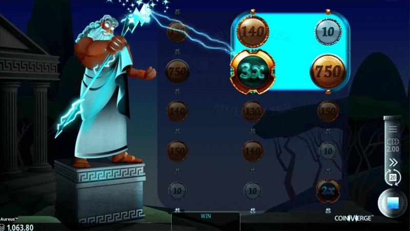 Aureus :: Lightning Feature