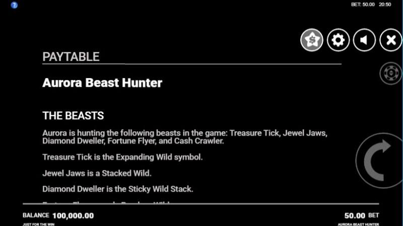 Aurora Beast Hunter :: General Game Rules