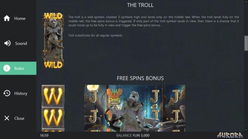 Aurora :: Wild Symbols Rules
